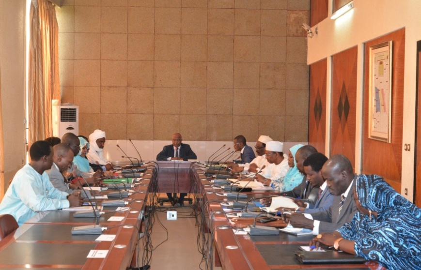Tchad : une réunion sur les régies financières à la Présidence. © PR