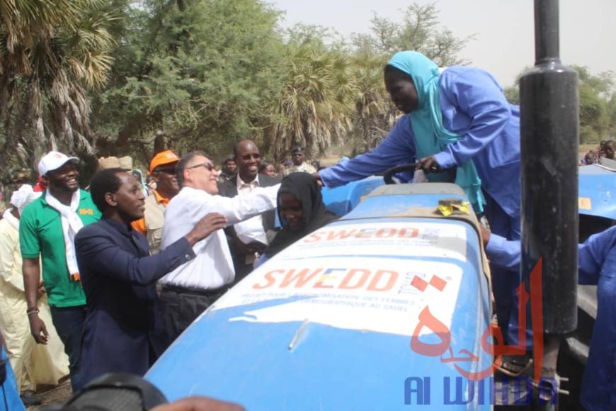 Tchad : une mission de la Banque mondiale s'est rendue au Hadjer Lamis. © Mahamat Abdramane Ali Kitire/Alwihda Info