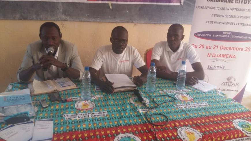 "Tchad : ""l'éducation, l'antidote à l'extrémisme violent"". © Abakar Chérif/Alwihda Info"