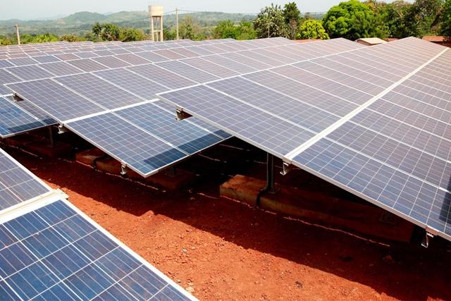 Un dispositif de production de l'énergie solaire au Togo. © DR/La Voix de la Nation