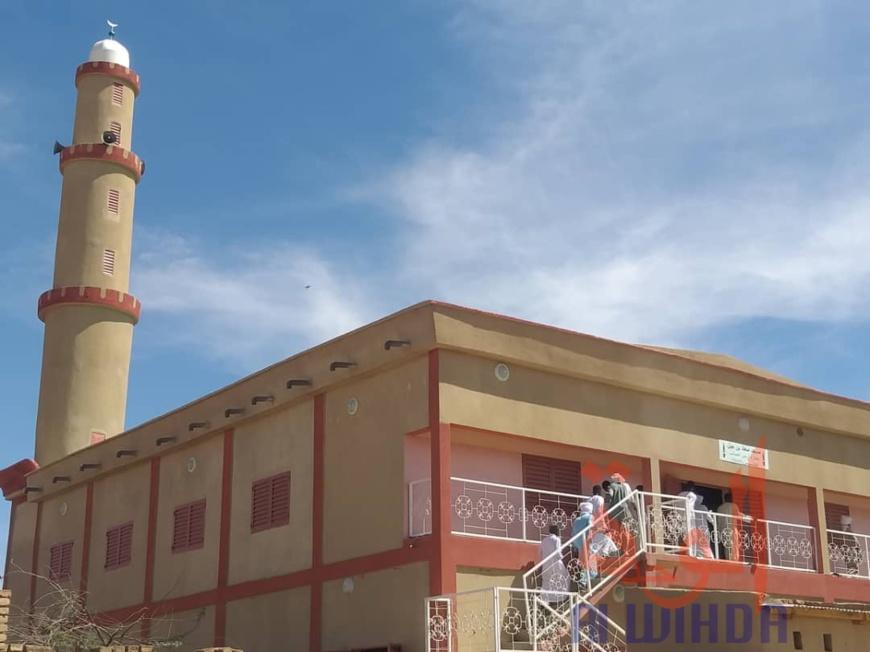 Tchad : une nouvelle mosquée inaugurée à Abéché. © Alwihda Info