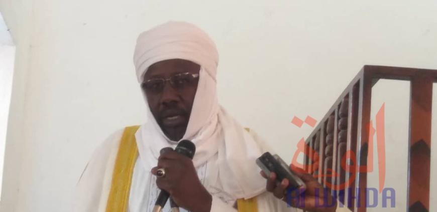 Le sultan Abbaside du Dar Ouaddaï, Chérif Abdelhadi Mahadi. © Alwihda Info