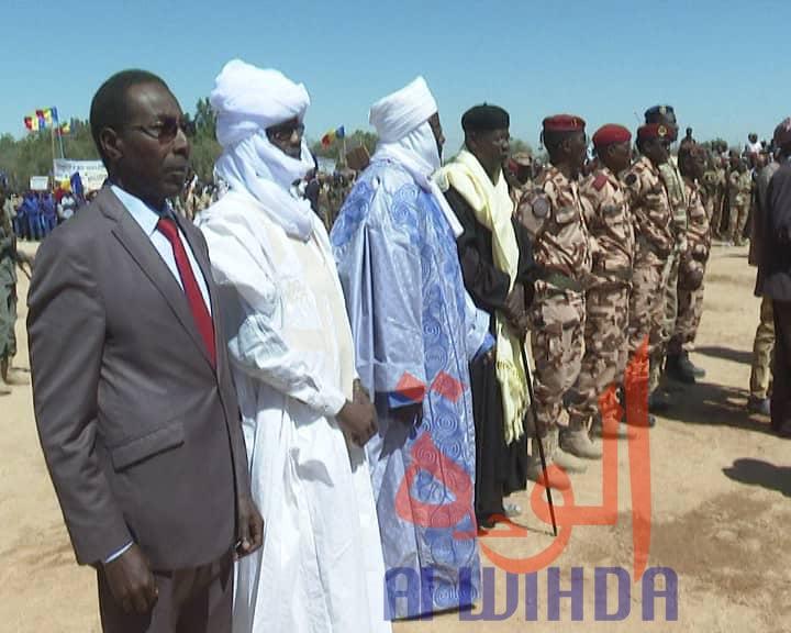 Tchad : les gouverneurs du Ouaddaï, Sila et Tibesti décorés de l'ordre national. © Alwihda Info