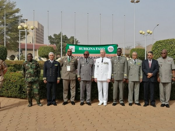 G5 Sahel : les pays redéfinissent leurs zones d'action militaire. © G5 Sahel