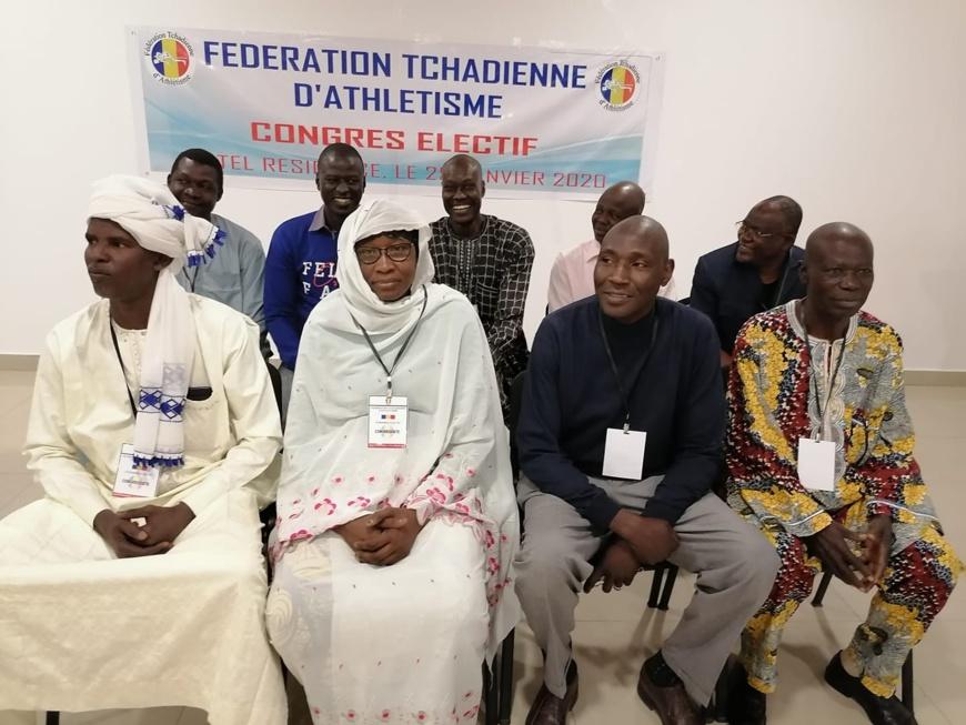 Tchad : Ali Faudet, nouveau président de la fédération d'athlétisme. © DR/FTA