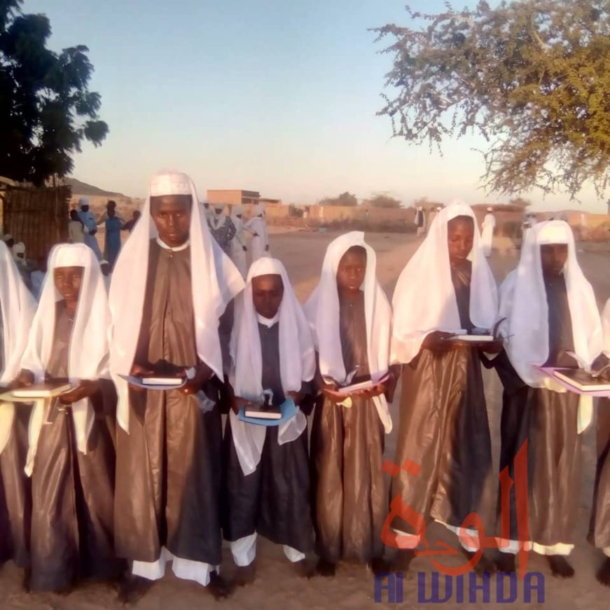 Tchad : fin de formation pour la 3ème promotion du centre coranique Ousmane Ibn Affân. © Alwihda Info