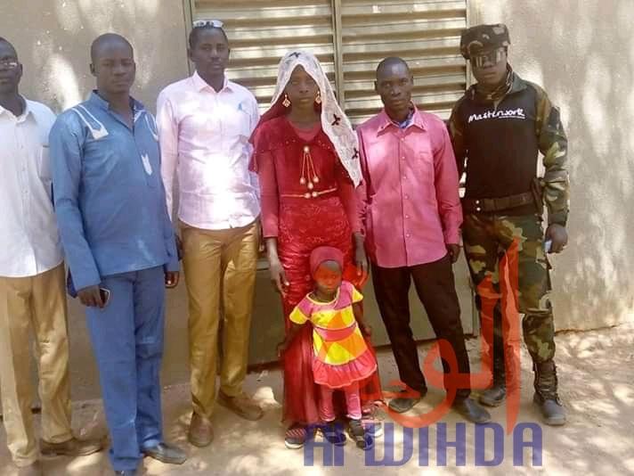 Tchad : enlevée à l'âge de 14 ans, une adolescente retrouvée 5 ans après. © Alwihda Info/Mahamat Issa