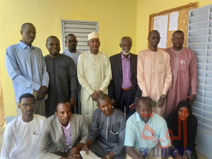 Tchad : 71 journalistes arabophones se perfectionnent à l'Est. © Abba Issa/Alwihda Info