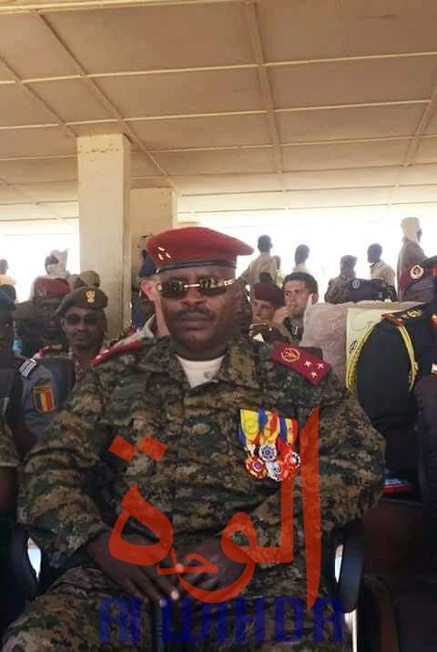Le général de corps d'armée Abakar Abdelkerim Daoud. © Alwihda Info