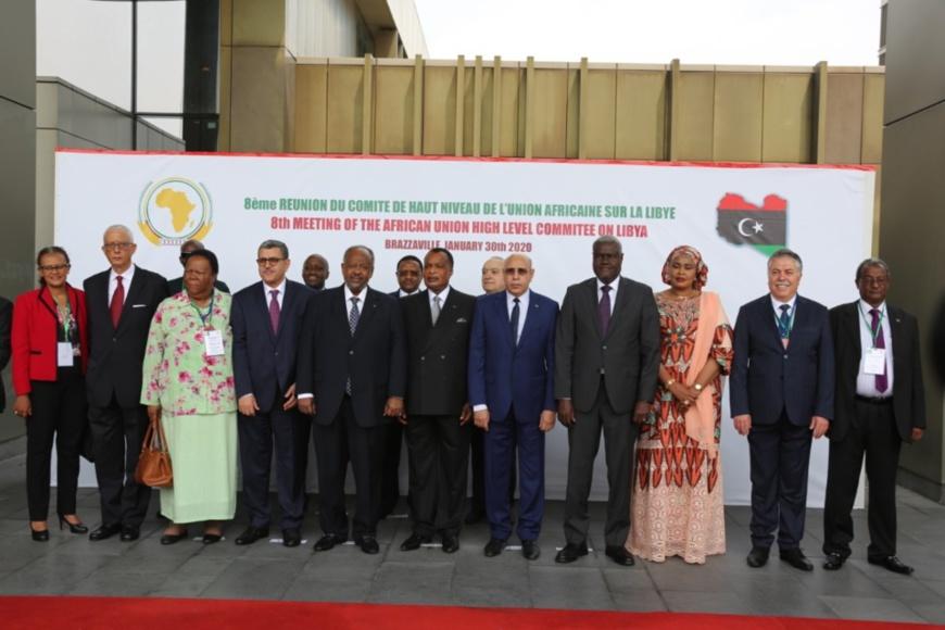 Les chefs d'Etat et de gouvernement présents à Brazzaville