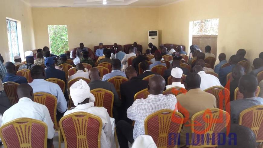 Tchad : une mission gouvernementale à Moundou, avant une visite du président. © Golmen Ali/Alwihda Info