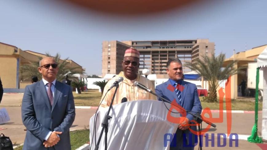 Le secrétaire exécutif de la communauté des Etats Sahélo-Sahariens (CEN-SAD), Ibrahim Sani Abani. © Malick Mahamat/Alwihda Info