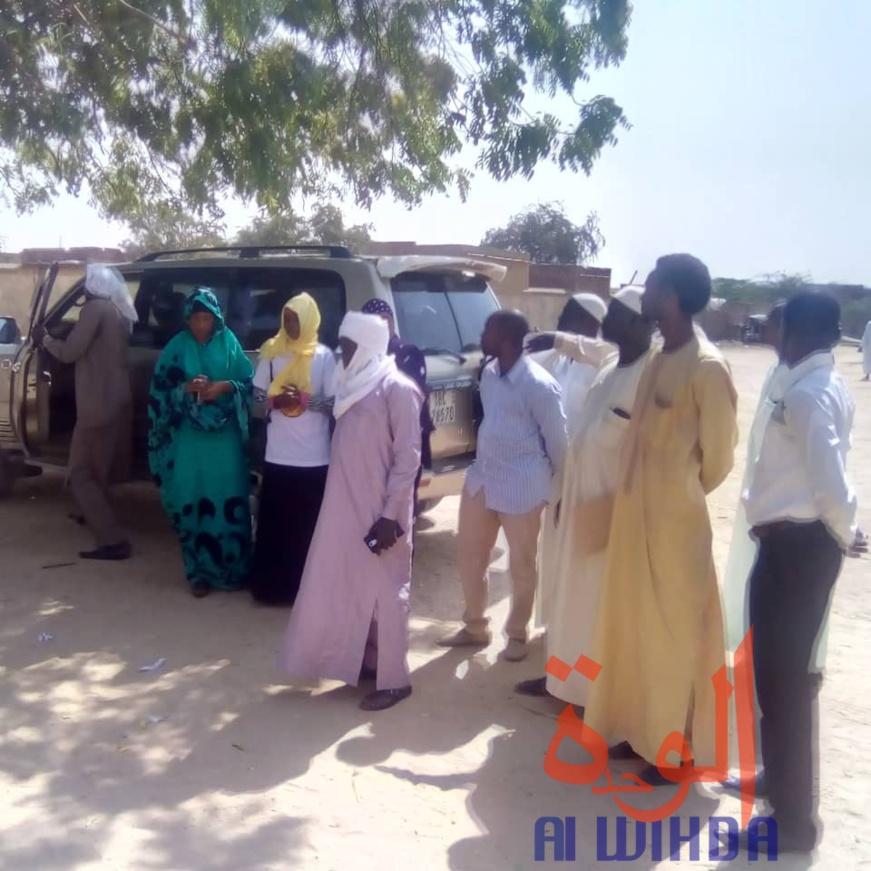 Tchad : la FGC porte assistance à la famille de 3 nouveau-nés à l'Est. © Abba Issa/Alwihda Info