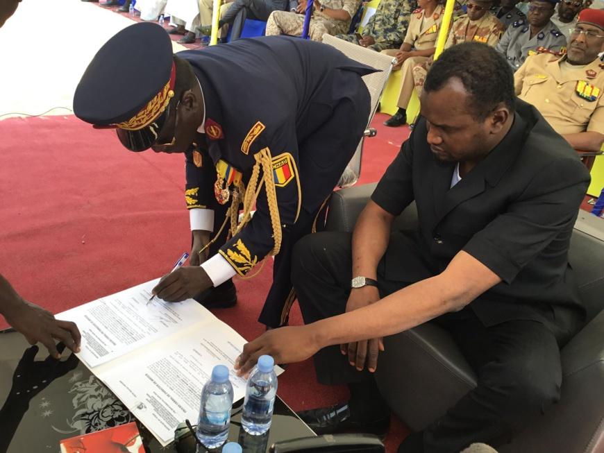 Tchad : le nouveau directeur de la police nationale installé. © Djimet Wiche/Alwihda Info