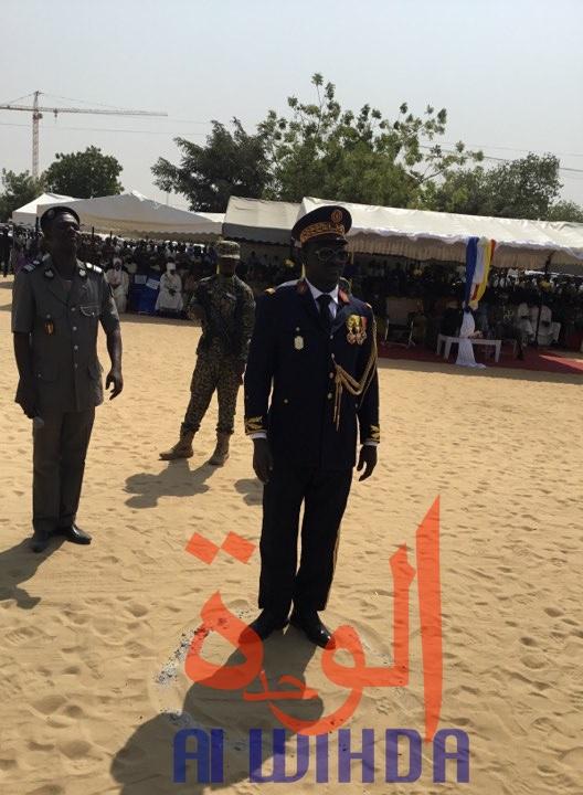 Le nouveau directeur de la Police nationale, général Ahmat Youssouf Mahamat Itno. © Djimet Wiche/Alwihda Info