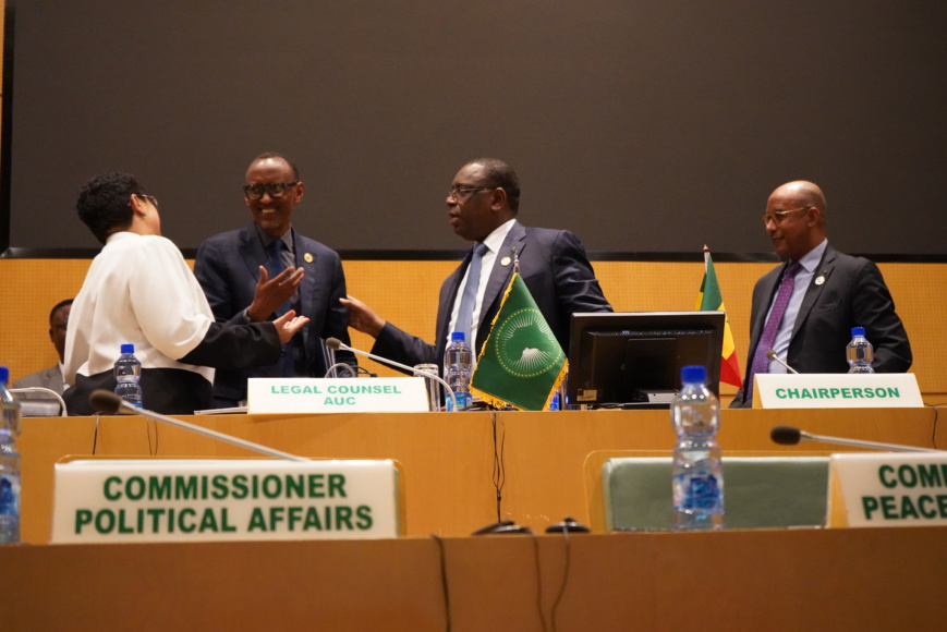 ​37th Session of the NEPAD Heads of State and Government Orientation Committee. © NEPAD