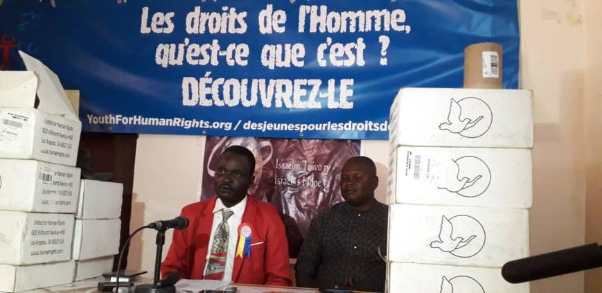 Tchad : une conférence sur les droits de l'Homme en mai prochain
