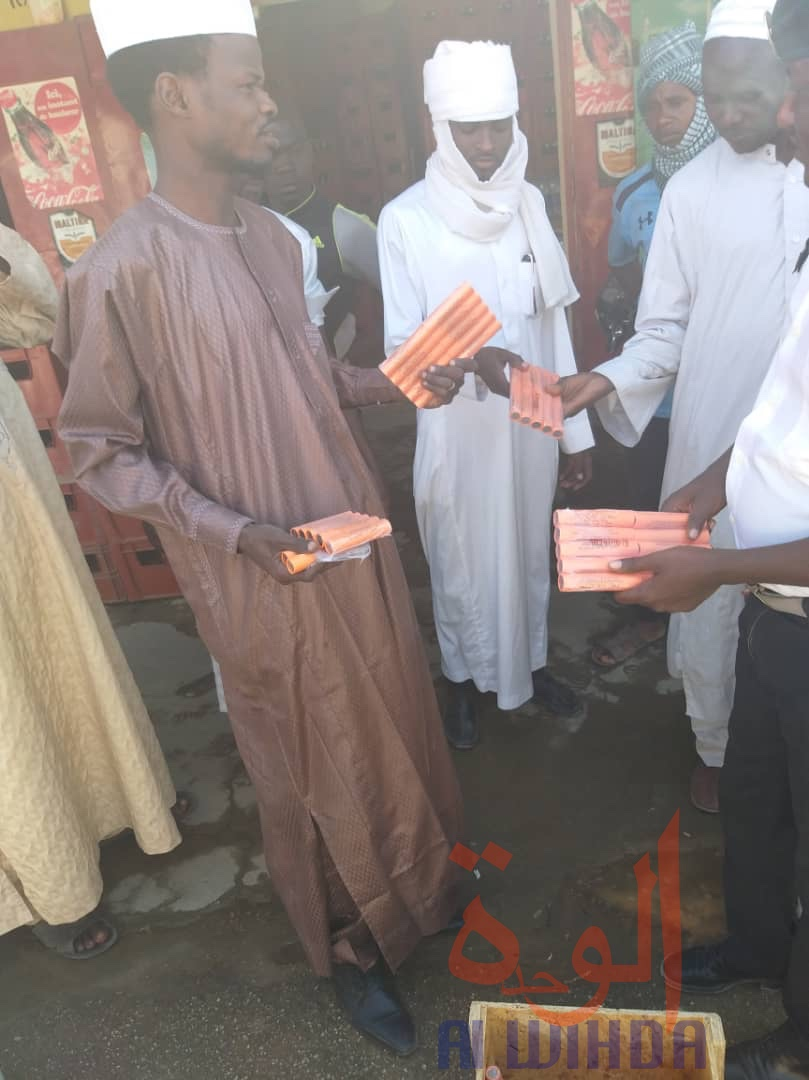Tchad : la Société Générale vole au secours des commerçants à Abéché. © Hamid Mahamat Issa/Alwihda Info