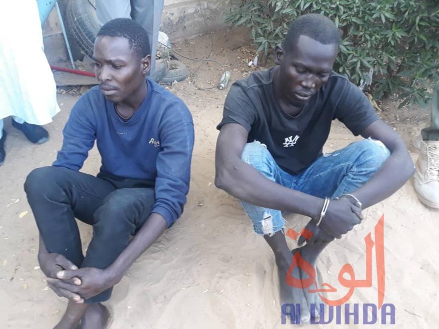 Tchad : deux hommes arrêtés après le meurtre d'une femme de 64 ans. © Djimet Wiche/Alwihda Info
