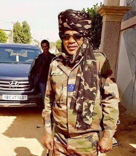 Le général de division Abadi Sayir Fadoul, nouveau gouverneur de la province du Lac. © DR