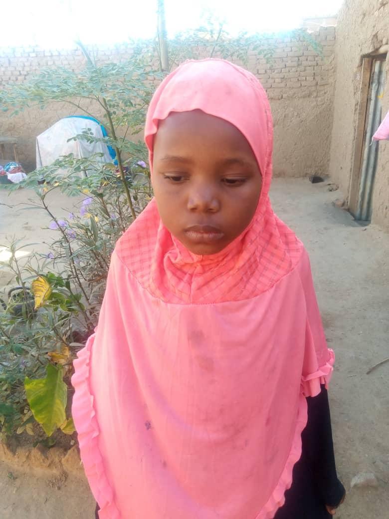 Tchad : Aicha, 9 ans, risque de perdre la vue faute de soins
