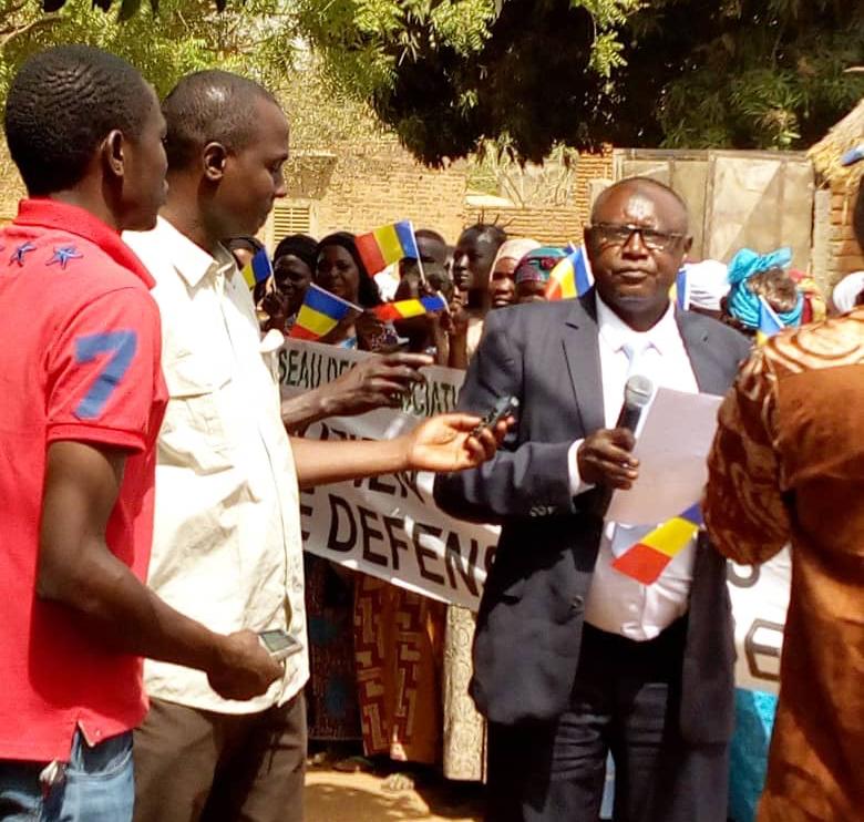 Le président du Réseau des associations pour la paix et la cohabitation pacifique du Logone occidental (RAPCLO), Moussa Alkhali Moussa. © DR