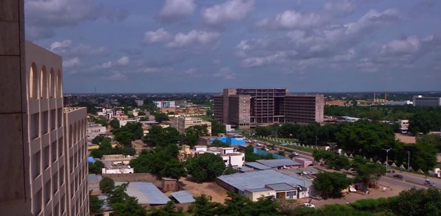 Une vue de la capitale N'Djamena. Illustration. © DR