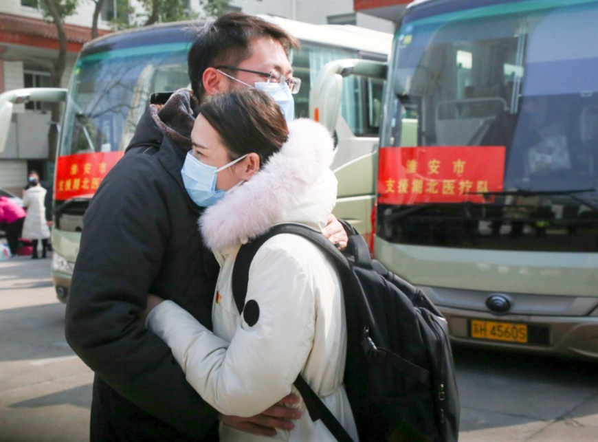 Another 6,000 medical staff arrive in Hubei from around China