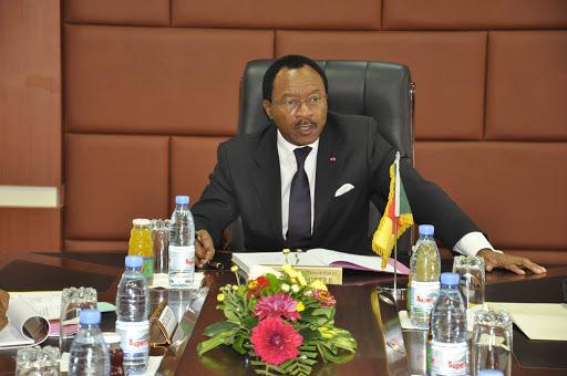 Emmanuel Nganou Djoumessi, alors ministre de l'Economie, de la Planification et de l'Aménagement du territoire, intervenant majeur impliqué dans le dossier.