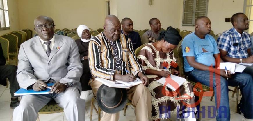 Tchad : à Laï, les comités d'organisation à pied d'oeuvre pour la venue du président. © Éric Guedi/Alwihda Info
