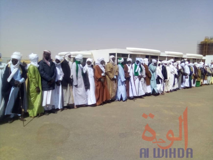 Tchad : le khalife général de la confrérie Tidjania accueilli à Am Djarass. © Alwihda Info