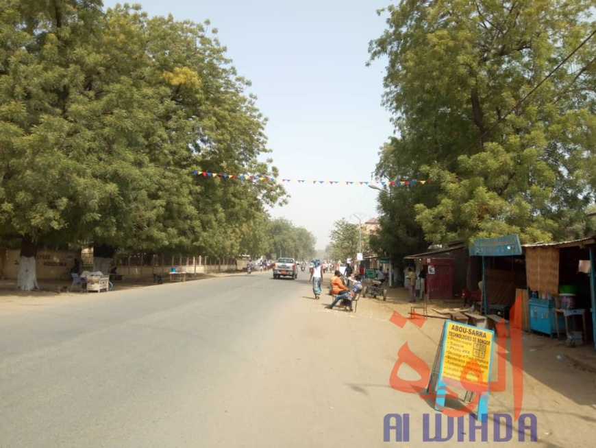 Tchad : intenses préparatifs et sécurité renforcée à Bongor pour la visite de Déby. © Golmen Ali/Alwihda Info