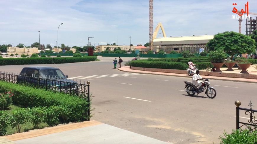 Le centre-ville de N'Djamena. Illustration. © Alwihda Info