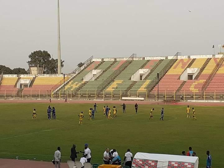 Football : 1-1 entre le Tchad et le Bénin, les réactions de l'entraineur Trégoat. © Moustapha Tourgoudi/Alwihda Info