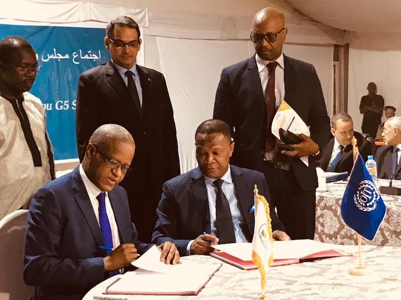 G5 Sahel : un accord avec l'OIT pour impulser la création d'emplois. © OIT