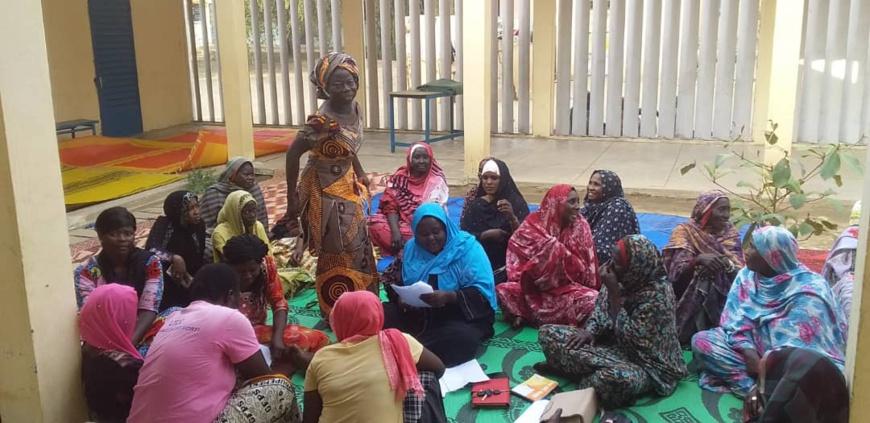 Tchad : les femmes s'organisent pour la réussite de la SENAFET au Batha. © Hassan Djidda Hassan/Alwihda Info