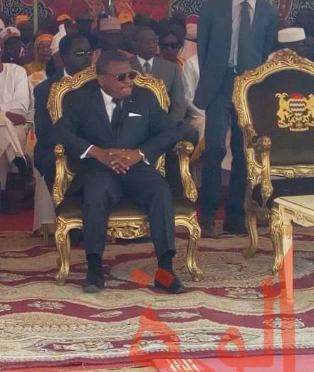 Le chef du Gouvernement camerounais Joseph Dion Ngute le 27 février 2020 à Bongor. © Golmen Ali/Alwihda Info