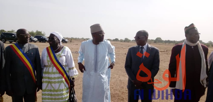 Tchad : le président Idriss Déby à Laï pour le lancement du PADLFIT