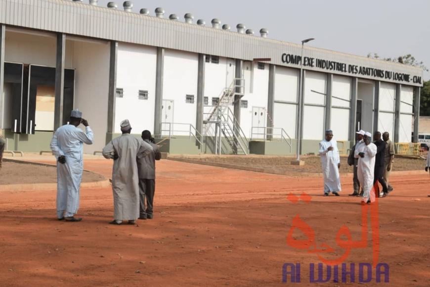 Tchad : le président à Moundou pour l'inauguration d'un complexe industriel. © Golmen Ali/Alwihda Info
