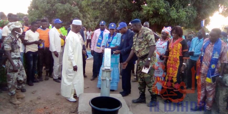 Tchad : 6 forages d'eau à Gagal pour apaiser la souffrance de la population. © Foka Mapagne/Alwihda Info