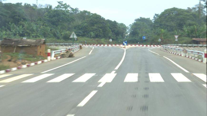 La route Sembé-Souanké-Ntam