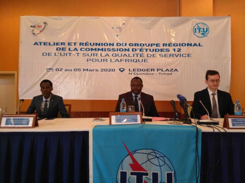Tchad : des experts se penchent sur la qualité des services télécoms. Crédits : Malick Mahamat/Alwihda Info