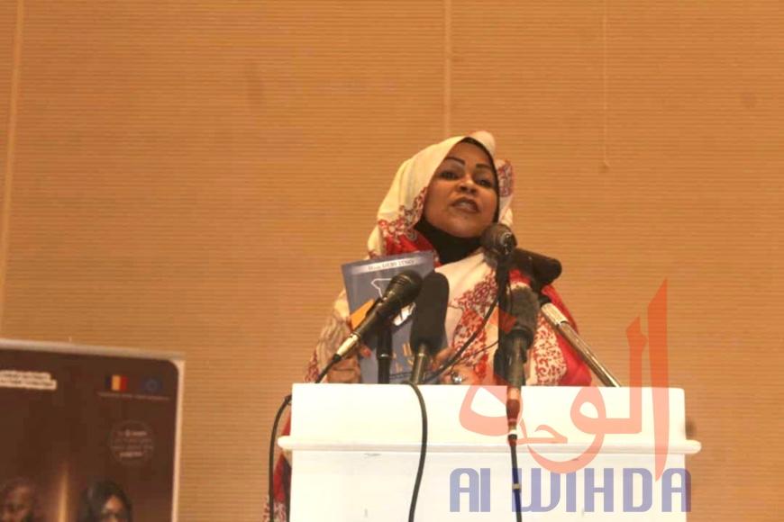 Tchad : la Première Dame annonce la sortie de son deuxième livre. © Abakar Chérif Hamid/Alwihda Info