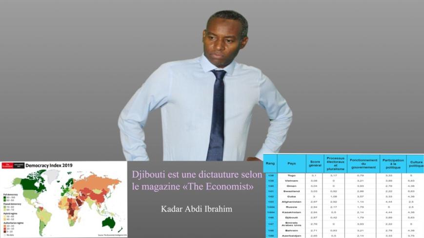 La république de Djibouti est une dictature selon le magazine «The Economist»