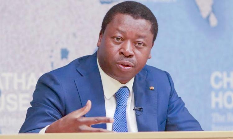 Le chef de l'Etat togolais Faure Gnassingbe lors d'un déplacement à Londres. Illustration. © DR