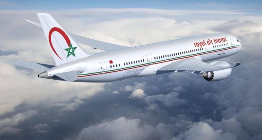 Un avion de la Royal Air Maroc. Illustration. © DR