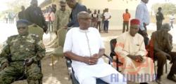 Tchad : le gouverneur de Laï en tournée dans les établissements. © Éric Guedi/Alwihda Info
