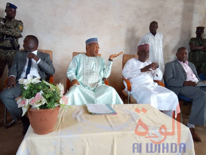 Le gouverneur de la province du Logone occidental, Dago Yacoub. © Golmen Ali/Alwihda Info