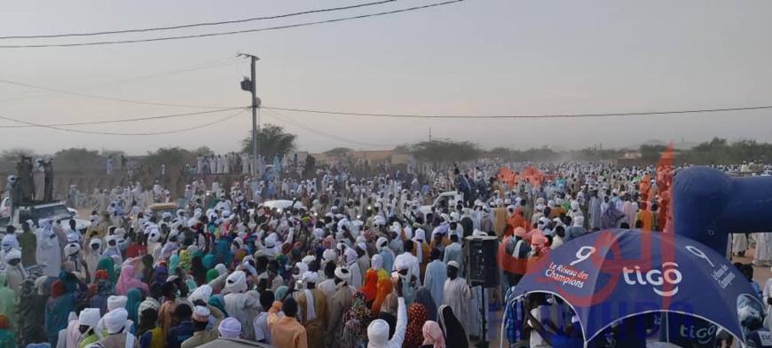 Tchad : la mobilisation ne faiblit pas à Abéché, à la veille de l'intronisation. © Alwihda Info