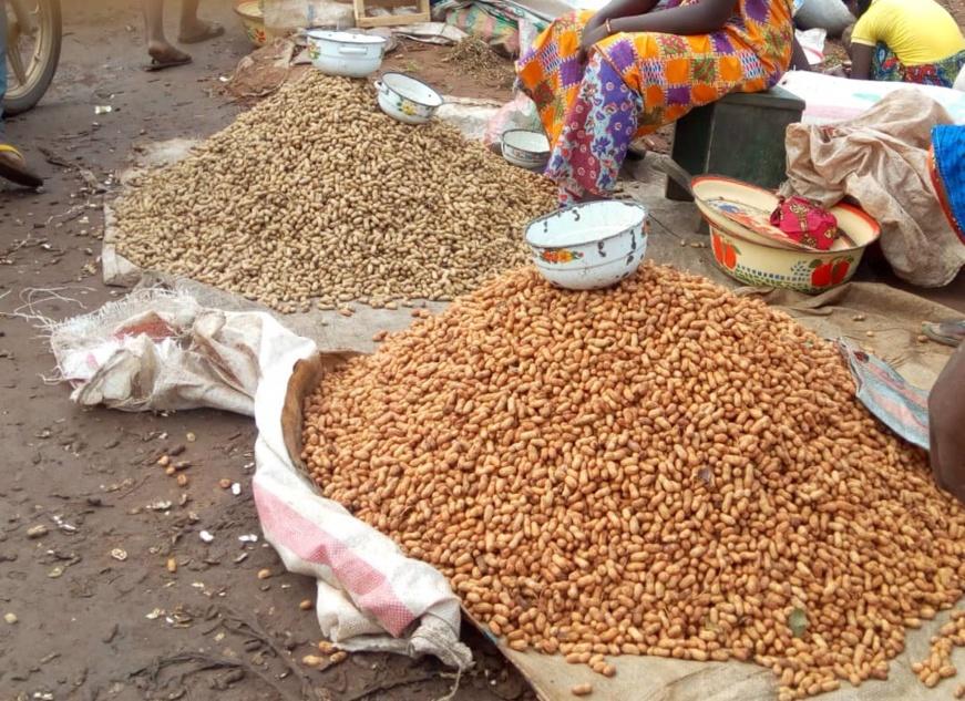Des produits vendus dans un marché au Tchad. © Mahamat Issa Gadaya/Alwihda Info